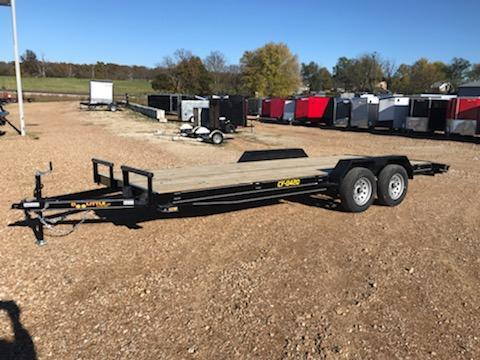 2021 Doolittle Trailer Mfg 84X20 DOOLITTLE CF Flatbed Trailer