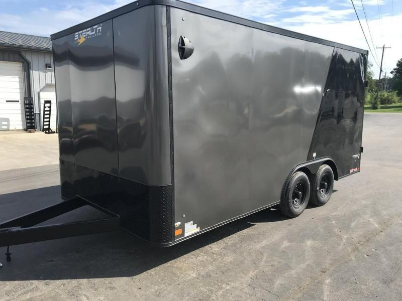 2021 Stealth Trailers 8.5x16 STEALTH Enclosed Cargo Trailer
