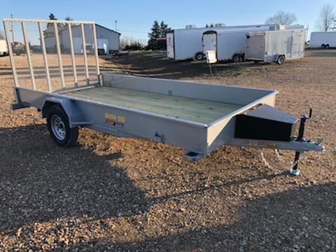 2021 Doolittle Trailer Mfg 84X14 DOOLITTLE SOLID SIDE Utility Trailer