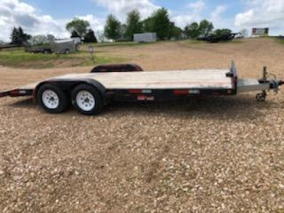 2016 Homemade 83X18 Flatbed Trailer