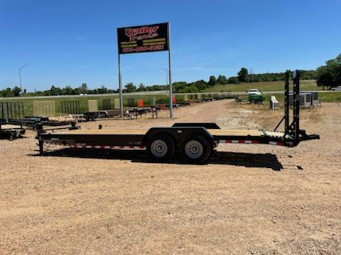 2021 Load Trail 83X24 LOAD TRAIL CARHAULER Flatbed Trailer