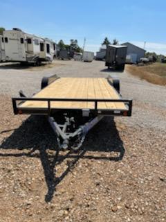 2022 Load Trail 83X18 LOAD TRAIL CARHAULER Flatbed Trailer