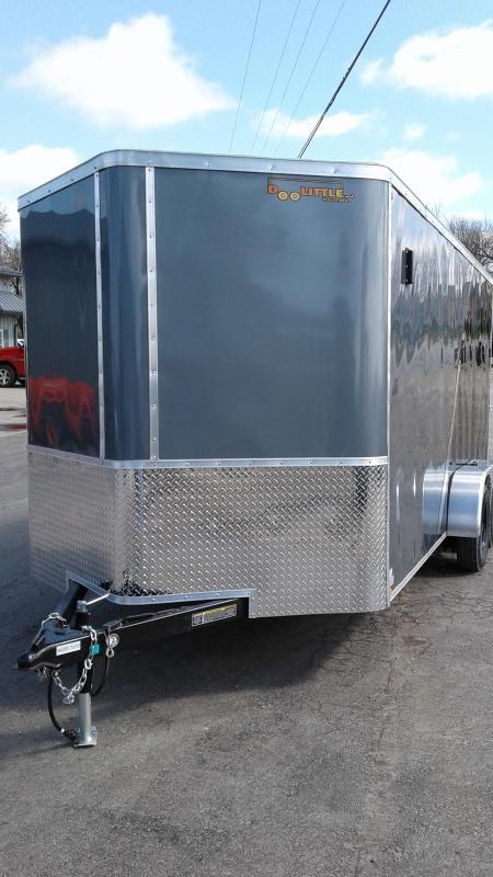 2021 Doolittle Trailer Mfg 7X16 DOOLITTLE CARGO Enclosed Cargo Trailer