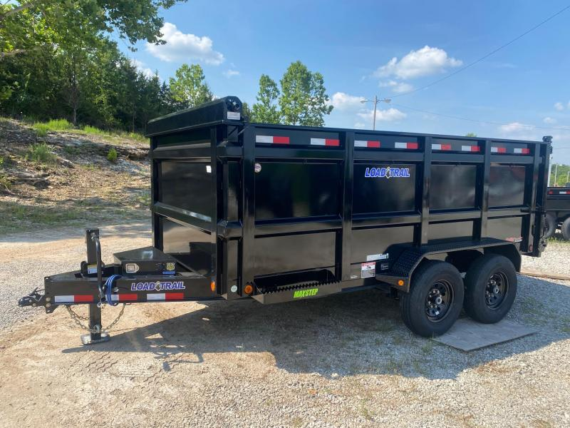 2021 Load Trail 83X14 4' SIDES Dump Trailer