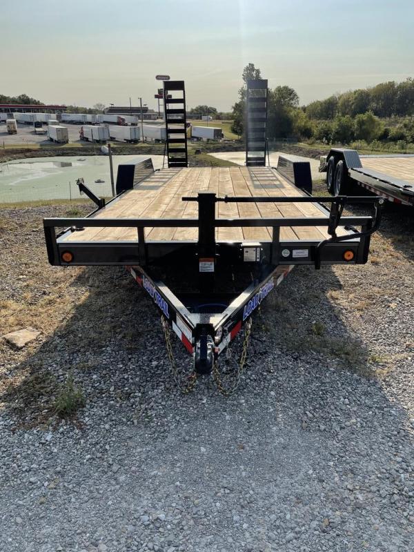2022 Load Trail 83X20 LOAD TRAIL CARHAULER Flatbed Trailer
