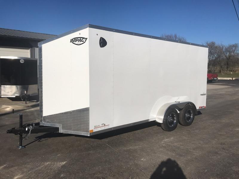 2021 Impact Trailers 7X16 IMPACT TREMOR Enclosed Cargo Trailer