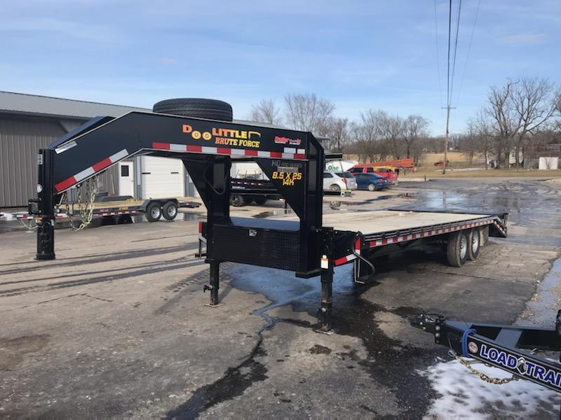 2021 Doolittle Trailer Mfg 102x25 DOOLITTLE Equipment Trailer