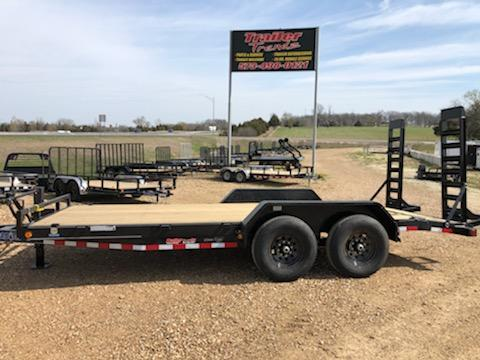 2021 Doolittle Trailer Mfg 83X18 LOAD TRAIL CARHAULER Flatbed Trailer