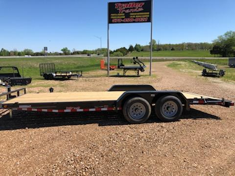 2021 Load Trail 83x20 Flatbed Trailer