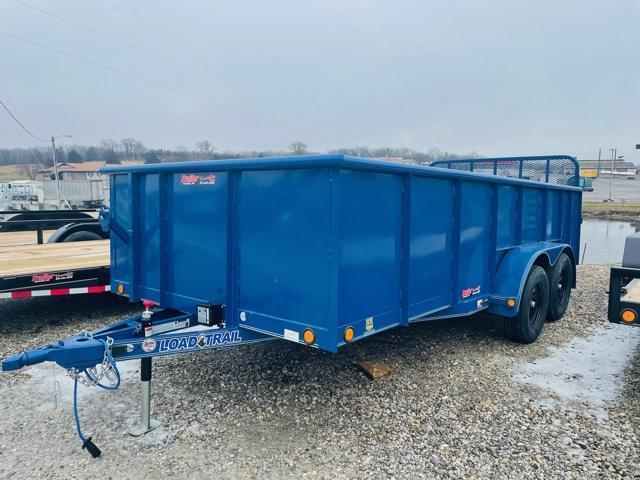 2021 Load Trail 83X16 UE DUMP Equipment Trailer