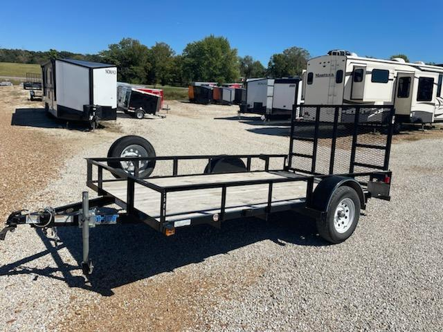 2019 Top Hat Trailers 77x12 TOP HAT Utility Trailer
