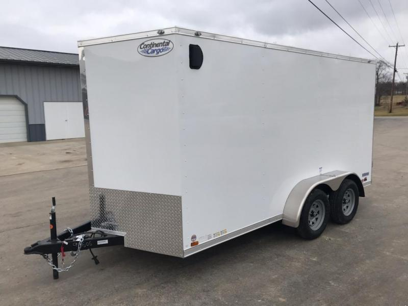 2021 Continental Cargo 7x14 CONTINENTAL CARGO Enclosed Cargo Trailer