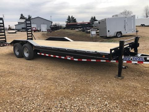 2021 Load Trail 102X24 LOAD TRAIL CARHAULER Flatbed Trailer