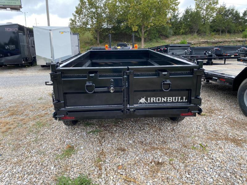2022 Iron Bull 5X10 7K GVWR DTB Dump Trailer
