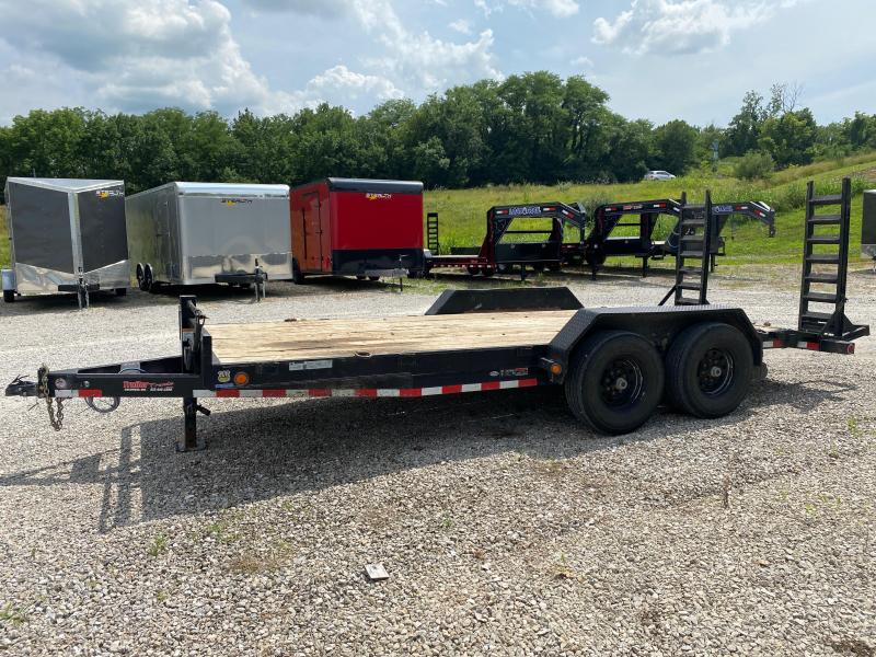 2018 Load Trail LOAD TRAIL 83x18 CAR HAULER Flatbed Trailer
