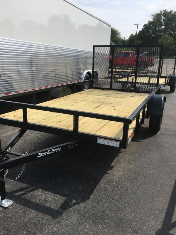 2020 Other 77X12 ROUND HOUSE Utility Trailer