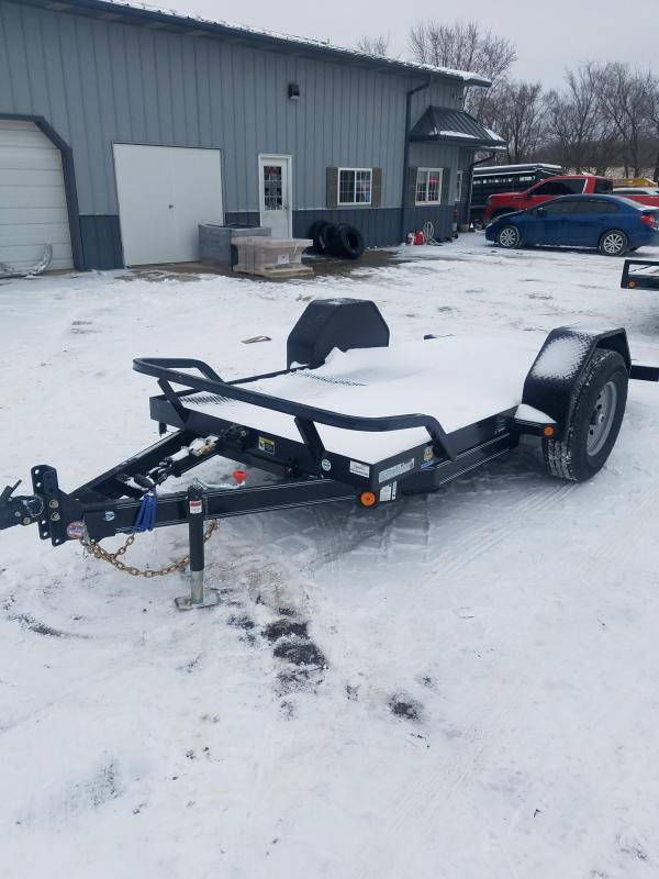 2021 Load Trail 60X12 LOAD TRAIL SCISSOR HAULER Flatbed Trailer