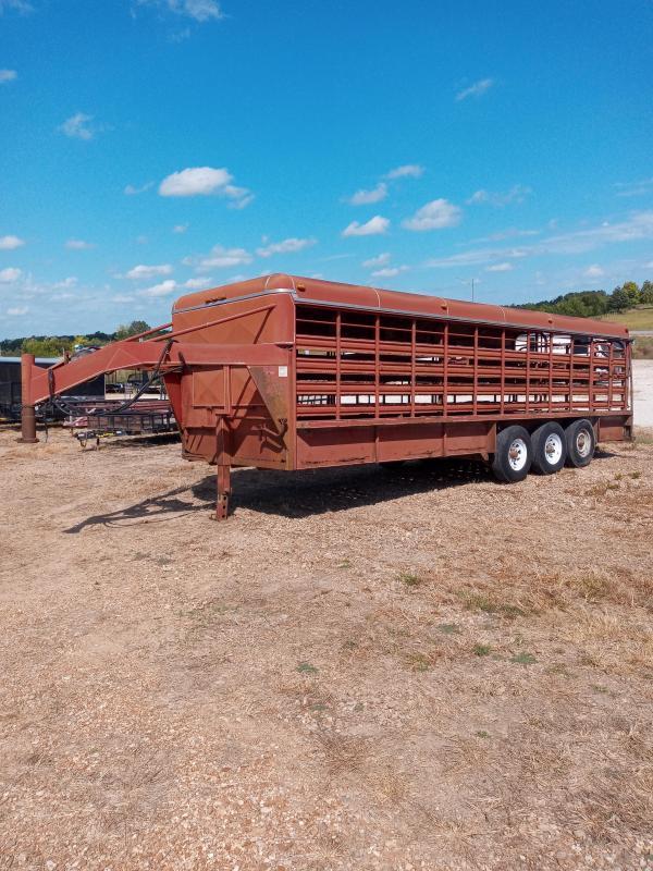 1992 Coose 6X24 COOSE Livestock Trailer
