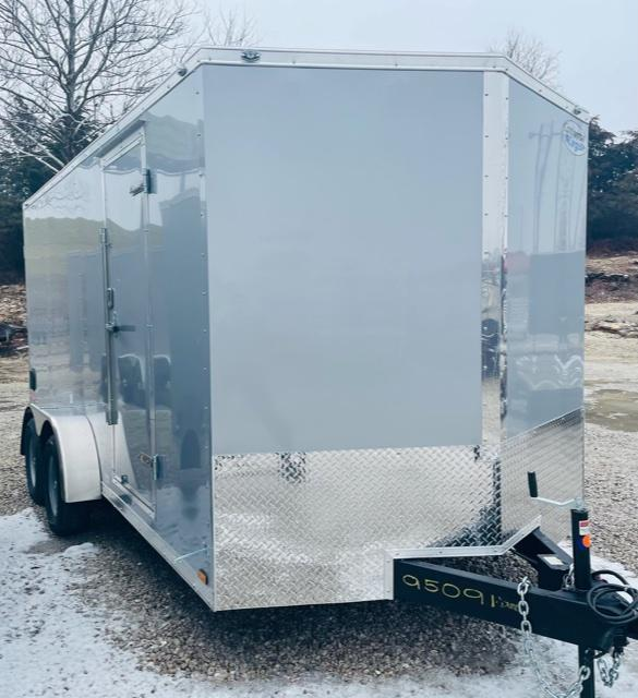 2021 Continental Cargo 7x16 V Series Enclosed Cargo Trailer