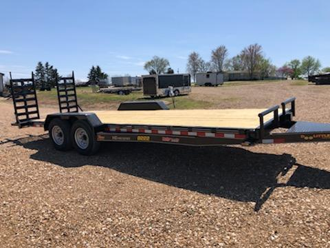 2021 Doolittle Trailer Mfg 82X22 DOOLITTLE Flatbed Trailer