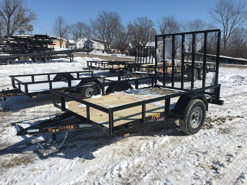 2021 Doolittle Trailer Mfg 77x10 DOOLITTLE Utility Trailer