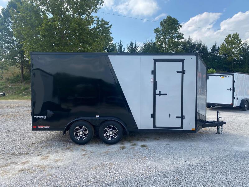 2022 Stealth Trailers 7X16 TITAN 10K Enclosed Cargo Trailer