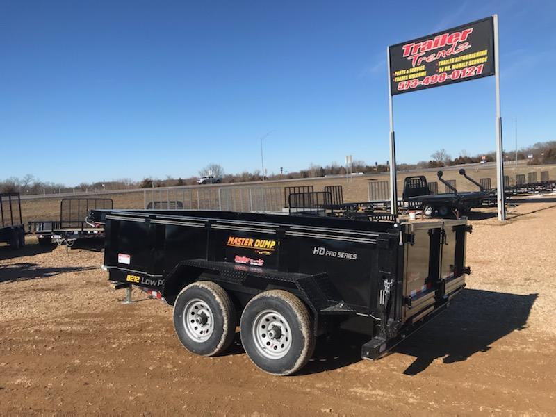 2021 Doolittle Trailer Mfg 82X12 DOOLITTLE MASTER DUMP Dump Trailer