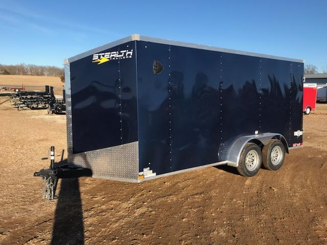 2021 Stealth Trailers 7X16 STEALTH MUSTANG Enclosed Cargo Trailer