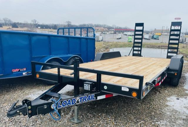 2021 Load Trail 83x18 Car Hauler Flatbed Trailer