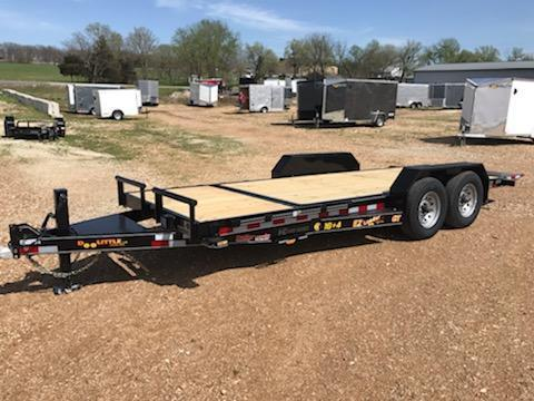 2021 Doolittle Trailer Mfg 82x20 DOOLITTLE TILT Flatbed Trailer