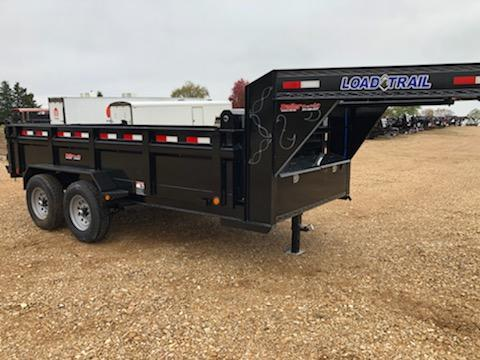 2021 Load Trail 83X14 LOAD TRAIL DUMP GOOSENECK Dump Trailer