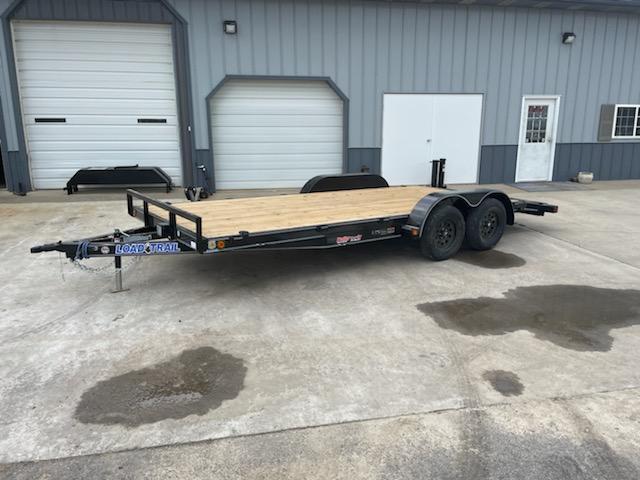 2021 Doolittle Trailer Mfg 83X18 LOAD TRAIL CARHAULER Flatbed Trailer