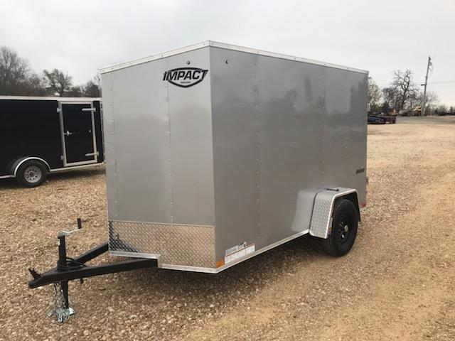 2021 Impact Trailers 6X10 IMPACT QUAKE Enclosed Cargo Trailer