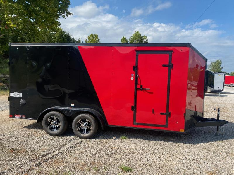 2022 Stealth Trailers 7X16 MUSTANG 7K Enclosed Cargo Trailer