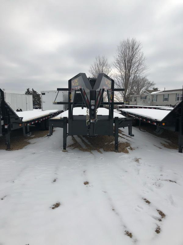 2019 Doolittle Trailer Mfg 102X34 GOOSENECK DECK OVER Flatbed Trailer