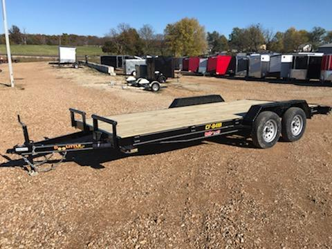 2021 Doolittle Trailer Mfg 84X18 DOOLITTLE CF Flatbed Trailer