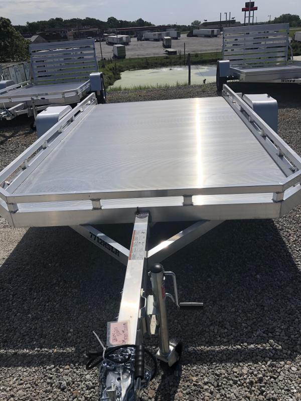 2021 Aluma 7814 ST BT Utility Trailer