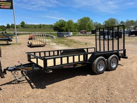 2021 Doolittle Trailer Mfg 77X14 DOOLITTLE Utility Trailer