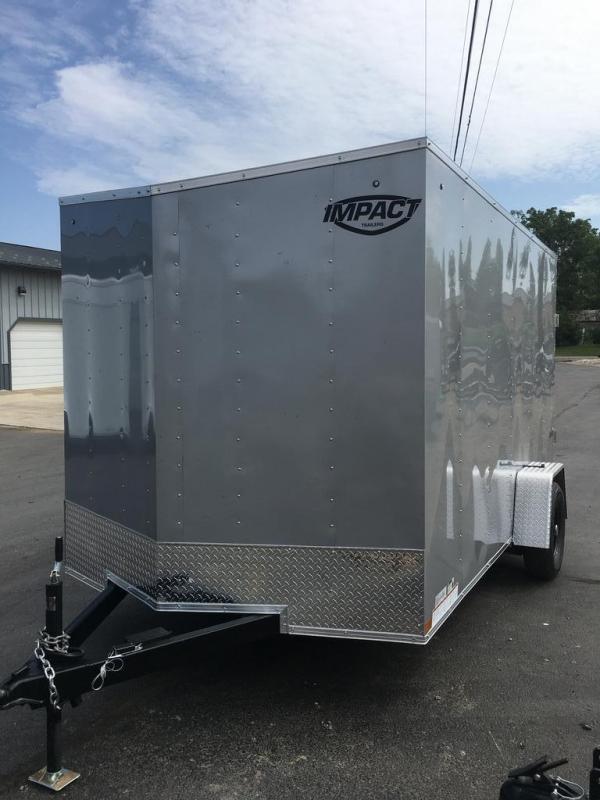 2021 Impact Trailers 7X12 IMPACT Enclosed Cargo Trailer