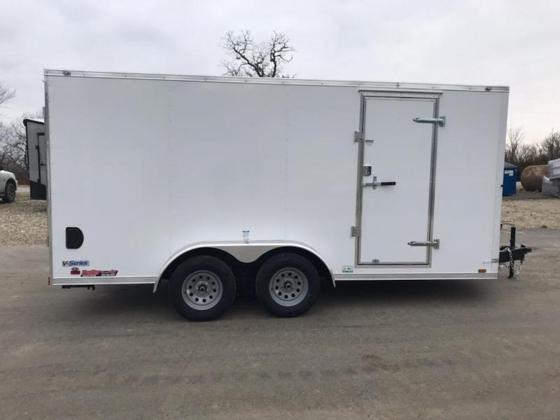 2021 Continental Cargo 7X16 CONTINENTAL CARGO Enclosed Cargo Trailer