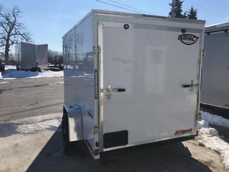 2021 Impact Trailers 6X10 IMPACT QUAKE Enclosed Cargo Trailer