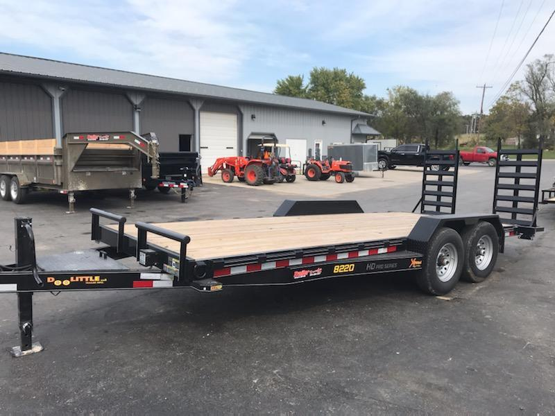 2021 Doolittle Trailer Mfg 82X20 DOOLITTLE Flatbed Trailer