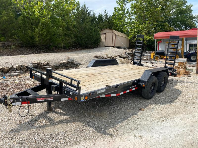 2018 83x18 Load Trail Car Hauler Flatbed Trailer
