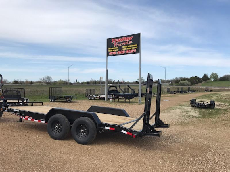 2021 Load Trail 83X18 LOAD TRAIL CARHAULER Flatbed Trailer