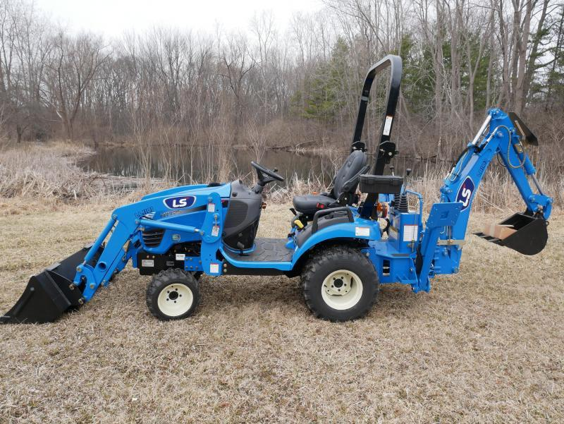 2020 LS Tractor MT 125H Tractor With Backhoe