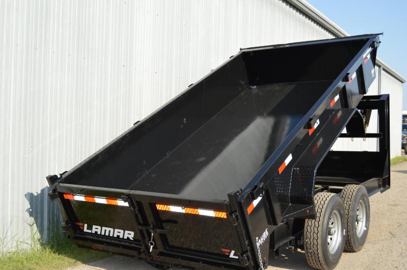 2021 Lamar Trailers 83x14 DL28 Dump Trailer