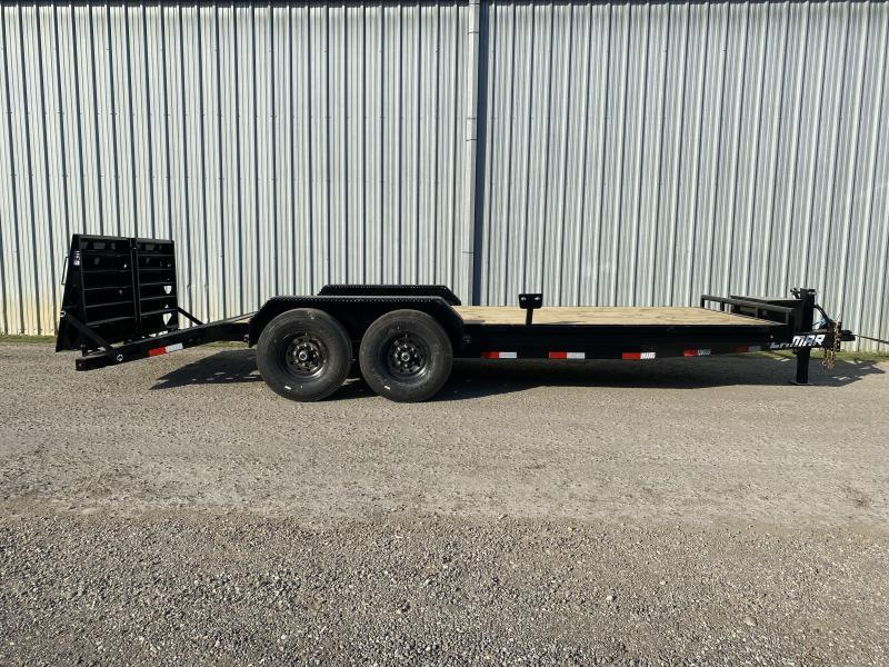 2021 Lamar Trailers 83x20 H6202 Equipment Trailer