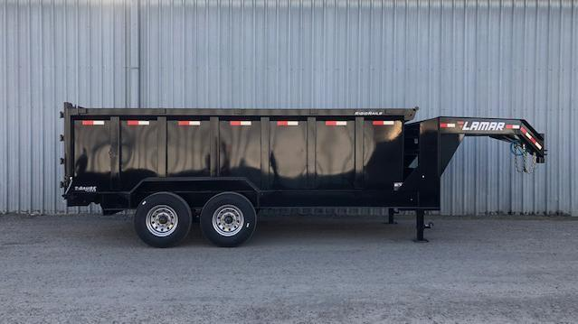 2021 Lamar Trailers Low-Pro Dump (DL) 16K Dump Trailer