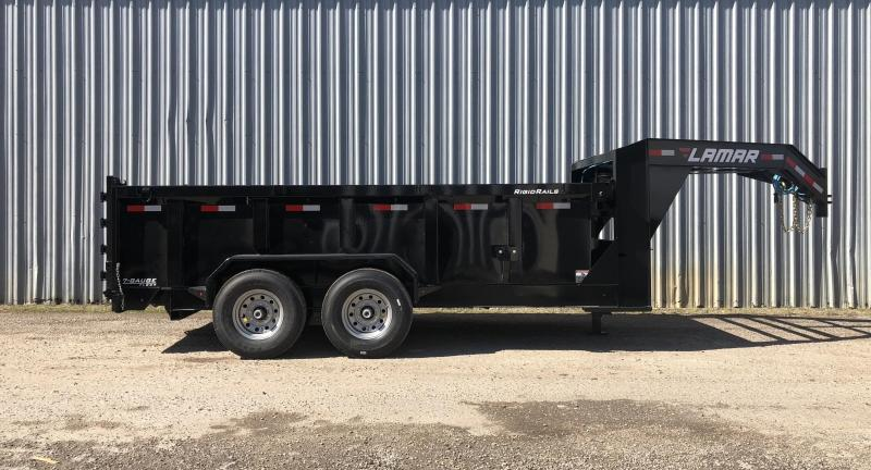 2020 Lamar Trailers Low-Pro Dump (DL) 16K Dump Trailer