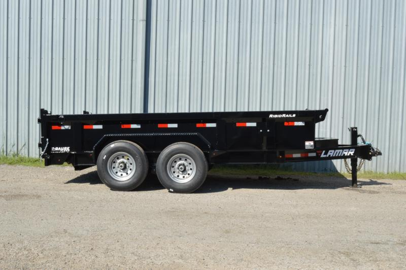 2021 Lamar Trailers Low-Pro Dump (DL) 14K Dump Trailer